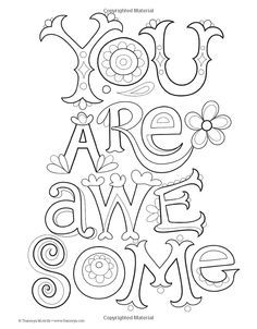 Free Printable Adult Coloring Book Page From Quot Color Me