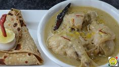 Rezala is confined itself within the periphery of Kolkata. A medium thin white gravy chicken recipe that is best served with roomali roti or biriyani.This di. Recipe Form, Recipe Mix, Indian Chicken Recipes, Indian Food Recipes, Ethnic Recipes, Chef Recipes, Meat Recipes, Cooking Recipes, Chicken Tikka