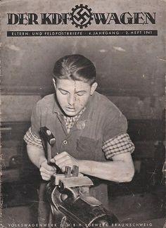 Trabajador de la planta KdF Wagen. 1941