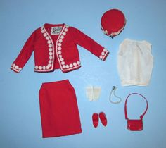 BARBIE Japanese Exclusive Outfit #2631 COMPLETE in Dolls & Bears, Dolls, Barbie Vintage (Pre-1973) | eBay
