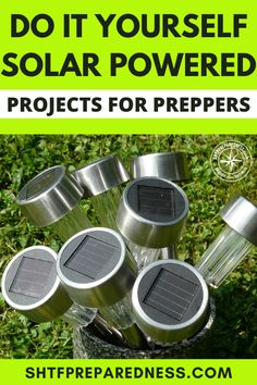 Simple DIY Solar Powered Projects For Preppers - Best Image Portal Wind Power, Solar Power, Solar Panels Information, Solar Panel Project, Outdoor Tv Antenna, Solar Energy Projects, Easy Diy, Simple Diy, Solar Generator