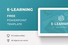 E-Learning Free Keynote Presentation Template Free Powerpoint Presentations, Powerpoint Template Free, Powerpoint Presentation Templates, Layout Template, Corporate Brochure, Business Marketing, Keynote, Teaching, Education