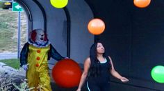 Real Life Killer Clown Halloween Prank  #clownscareprank #prank #scareprank