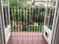 Bently design steel Juliet balcony £ 228 inc. - Best Picture For balcony bench For Your Taste You are Pallet Pergola, Iron Pergola, Pergola Swing, Pergola With Roof, Patio Roof, Pergola Plans, Pergola Ideas, Terrace Ideas, Cheap Pergola