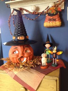 Longaberger's Witch's Hat ready for trick or treat.