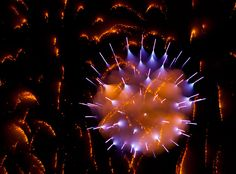 Long Exposure Fireworks Like You've Never Seen Before - Photograph by David Johnson