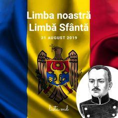 Limba Maternă – cea mai de preț comoară mostenită de la strămoși. Limba noastră care ne unește, care ne face auziți și înțeleși. Avem sfântă datorie de a păstra și transmite următoarelor generații această moștenire. La mulți ani Limba Noastră, la mulți ani Limba Română! Republica Moldova, Mai, Movies, Movie Posters, Films, Film Poster, Cinema, Movie, Film