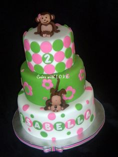 Love the idea of 2 monkeys for 2nd birthday!!