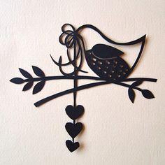 Mini Bird Papercut No.1 £12.00