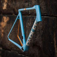 A unique Blue Breeze, PC Orange, White & Ghost Pearl custom Altum. #Parlee #Altum #custom #cycle #carbon #fiber #handmade Credit parleecycles via http://ift.tt/1IGEGZB