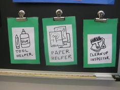 Mrs. Hansen's Art Room: Helpers