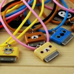 Cute iPhone chargers