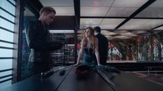"""S1 Ep13 """"Morning Star"""" - """"Hey, we're a team."""" #Clace #Shadowhunters"""