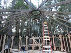 Yurt center ring