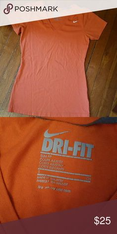 Nike t-shirt Only worn a few times. Comfortable gym shirt. No rips or stains Nike Tops Tees - Short Sleeve