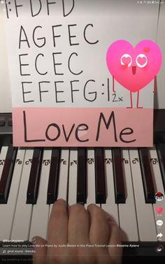 Piano Sheet Music Letters, Piano Music Notes, Easy Piano Songs, Fun Songs, Kalimba, Grace Music, Music Chords, Piano Tutorial, Ukulele