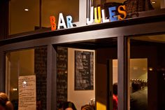 Hayes Valley date night -- Bar Jules