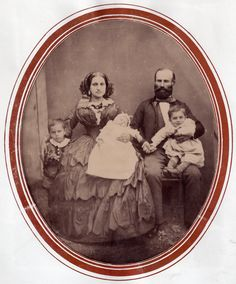 This lively young family has no place on a postmortem board, and yet they are sometimes found there.  The baby is asleep and the family is not in mourning.