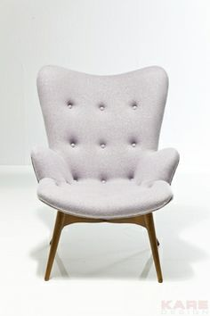 Small Arm Chair Angels Wings Bright Grey New Design