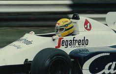 Ayrton Senna | Toleman TG184 |British Grand Prix