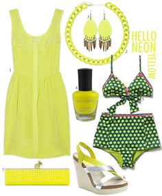 hello, neon yellow. @Daisy Smith im looking for neon yellow accessories for apocalyptour, i think they will be rad with my outfit!