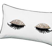 sequin eyes pillow case