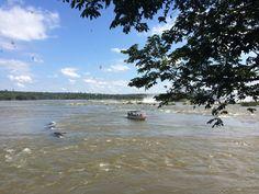 Passeio de barco em Foz do Iguaçu