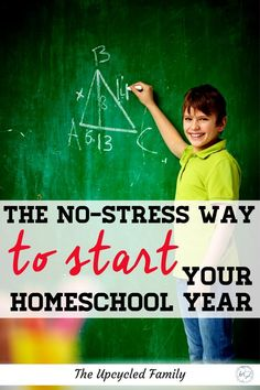Are you new to homeschooling or looking for a smoother way to start your homeschool year? Here is a No-Stress guide (with a checklist included) to help you transition into a new homeschool year, without the overwhelm or feeling like a failure. #homeschool #howtostart #schedule #organization #ideas #planning #tips #hacks #tricks The New School, New School Year, First Day Of School, Feeling Like A Failure, Starting School, How To Start Homeschooling, Learning Styles, Feeling Stressed, School Pictures