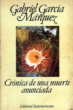 """""""El día en que lo iban a matar, Santiago Nasar se levantó a las 5:30 de la mañana para esperar el buque en que llegaba el obispo. Había soñado que atravesaba un bosque de higuerones donde caía una lluvia tierna, y por un instante fue feliz en el sueño, pero al despertar se sintió por completo salpicado de cagada de pájaros"""".Crónica de una muerte anunciada, García Márquez, 1981"""