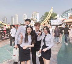Ulzzang Couple, Ulzzang Girl, Korean Couple, Korean Girl, Ulzzang Fashion, Korean Fashion, Korean Best Friends, Role Player, Ulzzang Korea