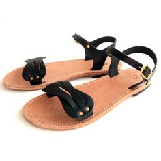 Aphrodite Sandals Women's Black, £44, now featured on Fab.