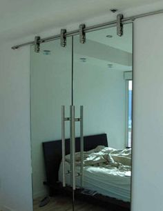 One can use the wall mirrors to enhance the beauty of the walls and to make a room appear more comfortable and spacious.