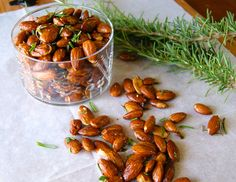 Rosemary and White Pepper Almonds