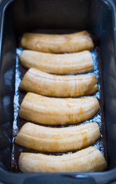 Caramel Banana Upside-Down Cake | Pretty. Simple. Sweet.