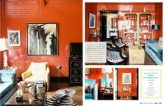 South Shore Decorating Blog: Shine On. Lacquered Furniture and Walls