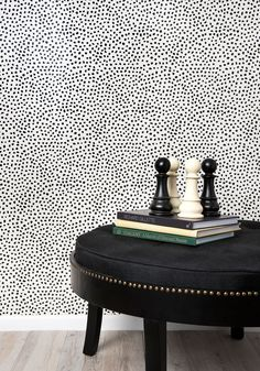 Leo's Spots Wallpaper from the Tastemakers Collection design by Milton & King