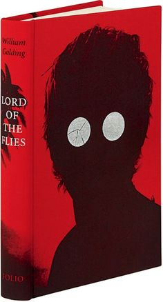 I was affected by Lord of the Flies as a kid. This cover is spooky, but also calls to mind that fateful moment when Piggy broke his glasses.