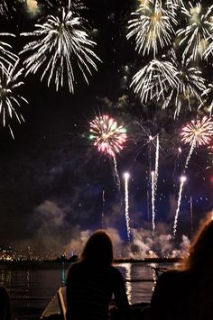 Fireworks at SAIL Amsterdam 2015, the Biggest Event in the Netherlands