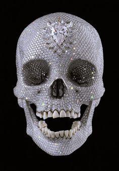 Jeff Koon skull: Art & Stuff: A deluxe version of death