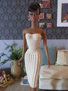 Ravelry: Pleated Dress for Barbie pattern by Betty Watson