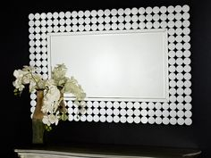 Dizajnové zrkadlo Adelia - Glamour design