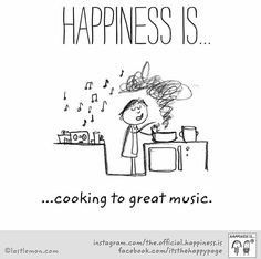 Cooking to great music