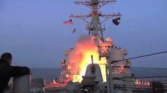 EUA Ataca a Síria - Marinha Lança Ataques de Mísseis WW3 (06-04-2017)