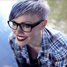 Cool Colors for Short Hair.
