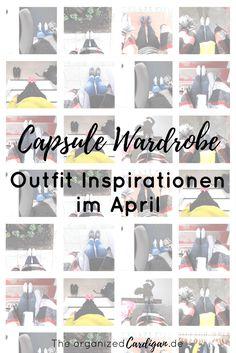 Frühlings Sommer Capsule Gardroben Outfit Inspirationen April