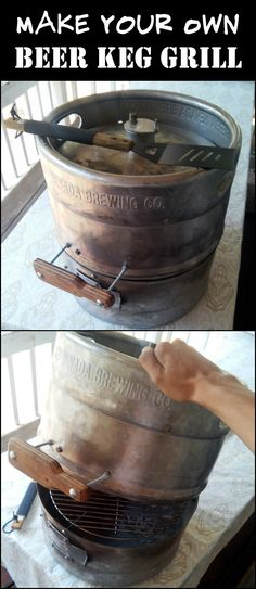 Give an out-of-service beer keg new life by converting it into an awesome grill!