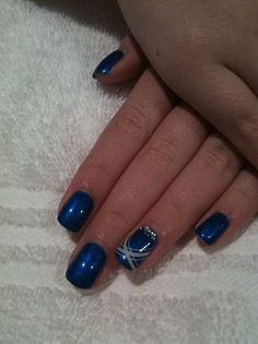 Blue Gelish