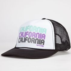 RIP CURL Cali Coast Womens Trucker Hat  19 c88d5c2bce2
