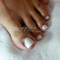 White Tie Nails
