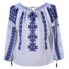 Blouse Roumaine Shop is first online concept store offering the finest selection of authentic handmade Romanian blouses. The art of creating the blouse passed from generation to generation. Women kept the tradition of sewing from mother to daughter. Embroidered Blouse, Embroidery Dress, Ethical Shopping, Hollywood, Folk Fashion, Peasant Blouse, Blouse Vintage, Unique Dresses, Black Silk